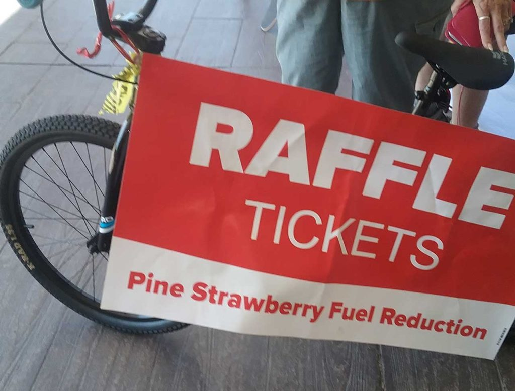 bike raffle and more in addition to the silent auction each year we run a raffle for bicycles and more